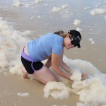 Noz and sea foam