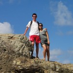 Me and Kat on Currumbin Rock