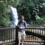 Me in front of Curtis Falls