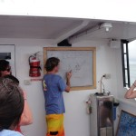 Chris giving our last dive briefing