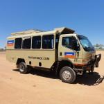 Stinga - our transport for the tour