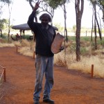 Our Anangu guide