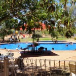 Ayers Rock Resort swimming pool
