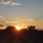 Sunset from the Kings Canyon Cattle Station