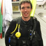 Me just before the night dive