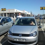 Our hire car for the Garden Route