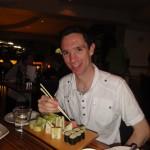 Sushi in Lemon Butta