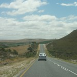 Driving down the N2