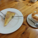 Milk tart and Rooibos Cappuccino