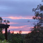 Sunset in Oudtshoorn