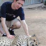 Me and a cheetah