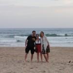 Me, Shammy and Hannah on Wilderness beach