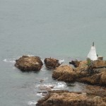 A lighthouse on the Eastern Head