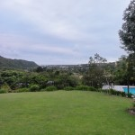 View over Plettenberg Bay from our lodge