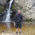 Me at a waterfall near Storms River