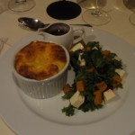 Dinner at the Cellar Restaurant