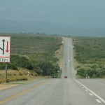 The road to Port Elizabeth