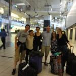 Kat, Lita, Matt, Shammy, Hannah and me in Johannesburg OR Tambo airport