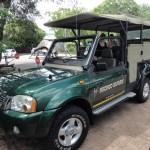 Our Nhongo Safaris game drive vehicle