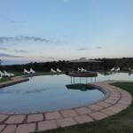Swimming pool in Nkambeni camp