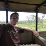 Me on one of our game drives