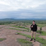 Me overlooking Kruger from Shebeni Kopies hill