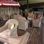 Bar area at Nkambeni camp