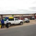 Shops just outside Kruger