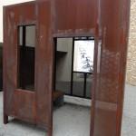 Representation of Nelson Mandela's cell on Robben Island