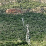 Ascending the Hartbeespoort cableway