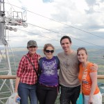 Lita. Noz, me and Shammy at the top of the Hartbeespoort cableway