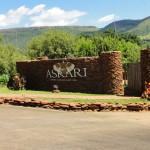 Entrance to the Askari Game Lodge and Spa
