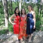 Kat, Shammy and Hannah
