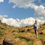 Matt on the mountain hike