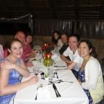 Dinner at the Askari Game Lodge