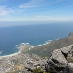 View of Camps Bay and Clifton Bay