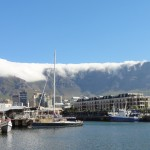View of the mountain from the V&A Waterfront