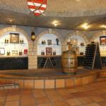 Private cellar at Haute Cabrier