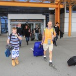 Arriving at Cluj Napoca airport