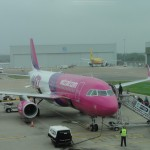 Our Wizz Air flight to Romania