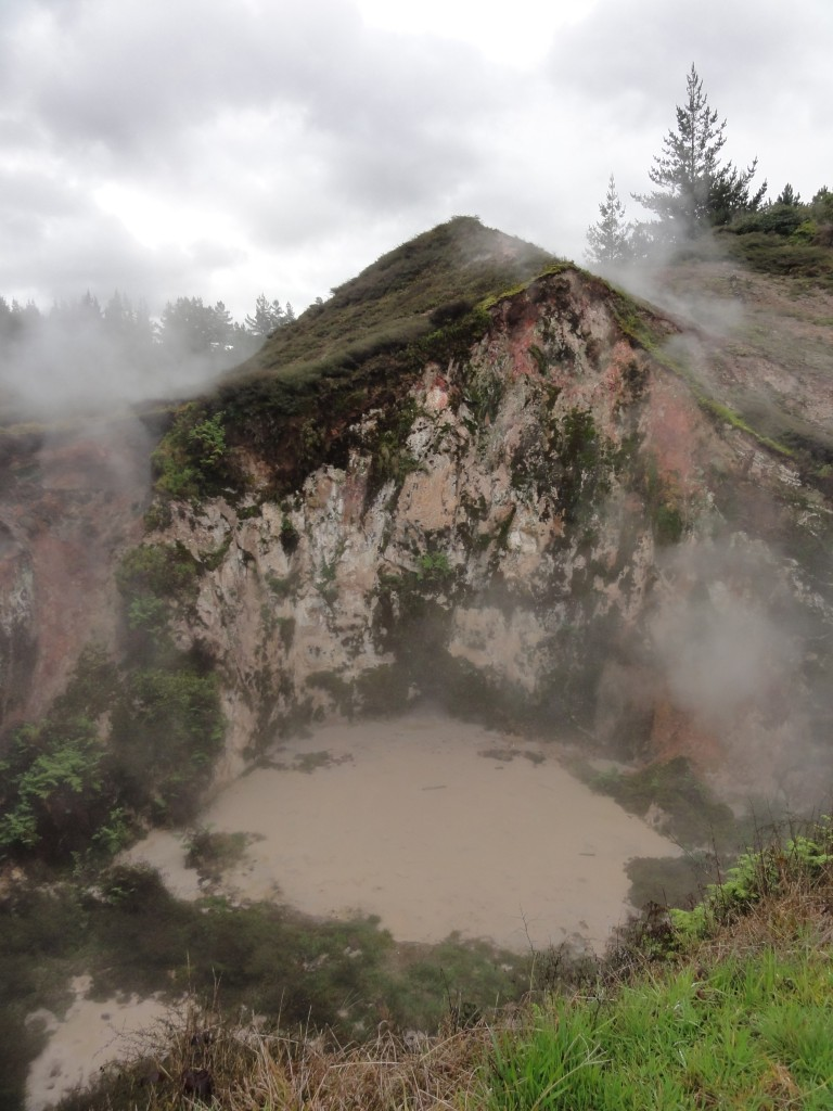 Mud pool at Craters of the Moon
